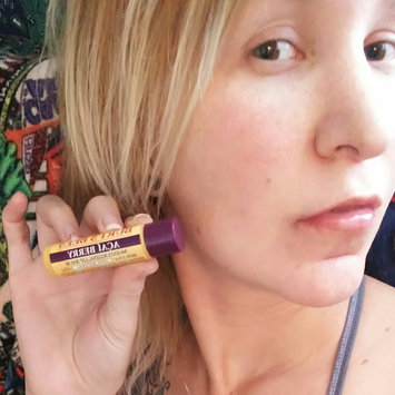 Photo of Burt's Bees 100% Natural Rejuvenating Lip Balm Acai Berry uploaded by Katy J.