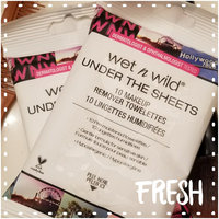 wet n wild Under The Sheets Makeup Remover Towelettes uploaded by Liz W.