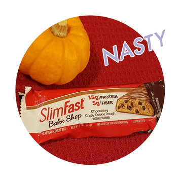 Photo of Slim-Fast Chocolate Cookie Dough Meal Bar uploaded by Kelly W.