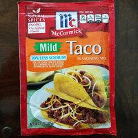 McCormick Taco Mild Seasoning Mix 30% Less Sodium uploaded by Tish C.