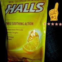 Halls Menthol Cough Suppresant/Oral Anesthetic Drops Honey-Lemon - 30 CT uploaded by Donna C.