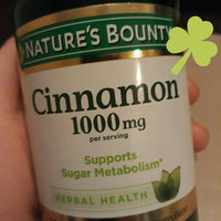 Nature's Bounty Dietary Capsules Cinnamon 1000 mg - 100 CT uploaded by Denisse G.