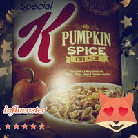 Special K® Kellogg's Pumpkin Spice Cereal uploaded by Abigail S.