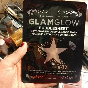 Photo of GLAMGLOW BUBBLESHEET Oxygenating Deep Cleanse Mask uploaded by Elizabeth C.