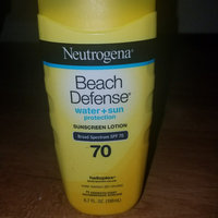 Neutrogena® Beach Defense® Water + Sun Protection Sunscreen Lotion Broad Spectrum Spf 70 uploaded by AMBER R.