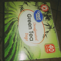 Great Value Decaffeinated Green Tea Tea Bags uploaded by sarah s.