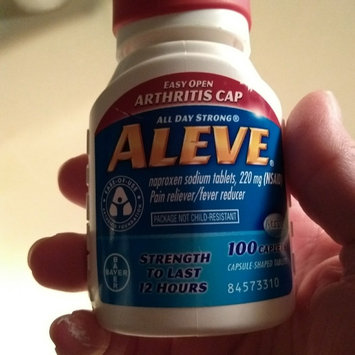 Photo of Aleve Tablets with Easy Open Arthritis Cap uploaded by Melinda V.