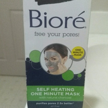 Photo of Biore® Self Heating One Minute Mask 0.25 oz. Box uploaded by Chelsea D.