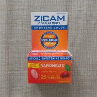 Zicam Rapidmelts Cherry Cold Remedy 25 Ct uploaded by Giselle c.