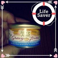 Fancy Feast® Gravy Lovers™ Ocean Whitefish & Tuna Wet Cat Food In A Sautéed Seafood Flavor Gravy uploaded by Amanda Y.