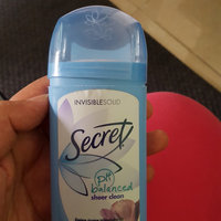 Secret® Sheer Clean Original Invisible Solid Deodorant uploaded by Noor J.