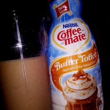 Photo of Nestle Coffeemate Butter Toffee Liquid Coffee Creamer 32 fl oz Bottle uploaded by Katie C.