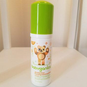 Photo of BabyGanics Alcohol Free Foaming Hand Sanitizer - On-the-Go (Tangerine) - 50ml uploaded by Amber M.