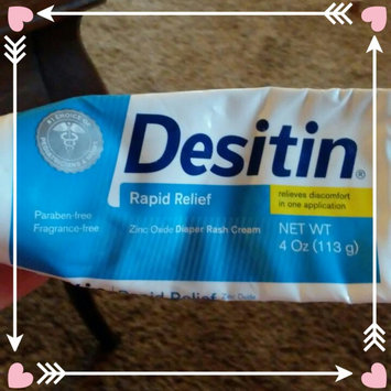 Photo of Desitin Rapid Relief Diaper Rash Ointment uploaded by Meg W.