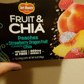Photo of Del Monte® Fruit & Chia™ Mixed Fruit in Tropical Flavored Chia uploaded by Seerra p.