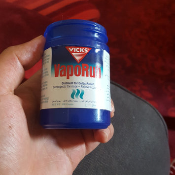 Photo of Vicks® VapoRub™ Topical Cough Suppressant uploaded by Noor J.