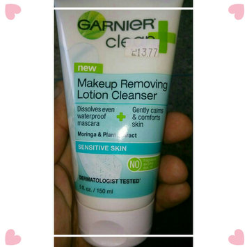 Photo of Garnier Skinactive Clean + Makeup Removing Lotion Cleanser uploaded by Georgelena M.