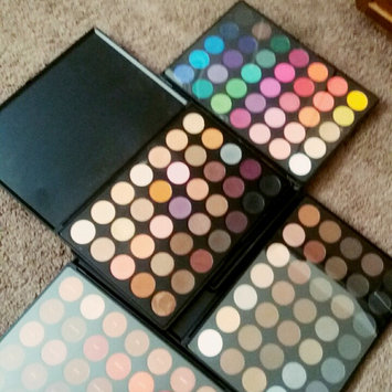 Photo of Morphe 35N 35 Color Matte Eyeshadow Palette uploaded by ruby L.