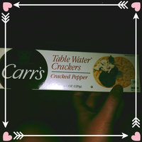 Carr's Table Water Crackers with Cracked Pepper uploaded by Valerie H.