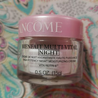 Lancôme Bienfait Multi-vital Cream High Potency Night Moisturizer uploaded by crystal g.