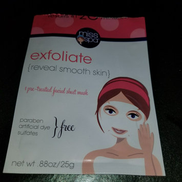Photo of Miss Spa exfoliate Sheet Face Mask-1 Mask Pack uploaded by Paige P.