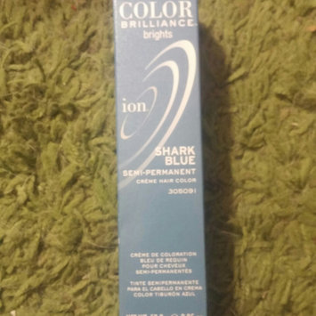 Photo of Ion Color Brilliance Brights Semi-Permanent Hair Color Shark Blue uploaded by Jill R.