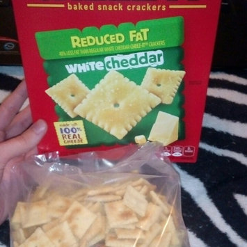 Photo of Cheez-It® Sunshine Baked Snack Crackers White Cheddar uploaded by Caitlyn E.