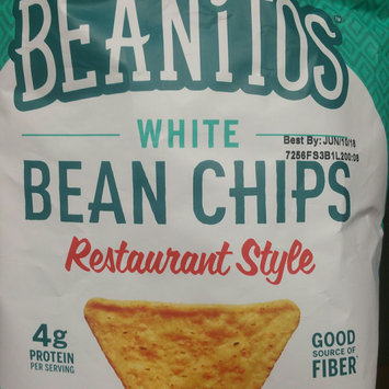Photo of Beanitos Restaurant Style White Bean Chips with Sea Salt uploaded by Rachel P.