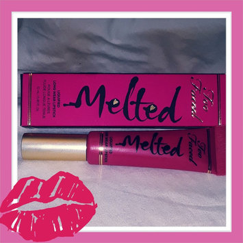 Photo of Too Faced Melted Liquified Long Wear Lipstick uploaded by Amanda H.