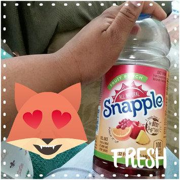 Photo of Snapple Fruit Punch Juice uploaded by Denise E.