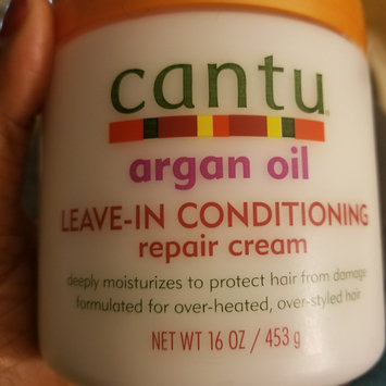 Photo of Cantu Argan Oil Leave In Conditioning Repair Cream uploaded by monica w.