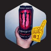 Monster Rehab Raspberry Tea + Energy uploaded by Allen R.