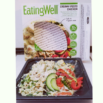 Photo of Eating Well™ Creamy Pesto Chicken 10 oz. Box uploaded by Amber M.