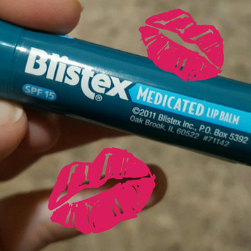 Photo of Blistex Medicated Balm SPF 15 uploaded by Bethany L.