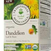 Traditional Medicinals Herbal Tea Organic Dandelion Leaf & Root 16 Tea Bags uploaded by shenice c.