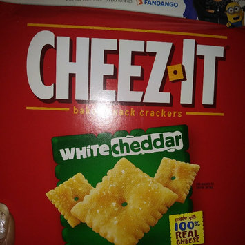 Photo of Cheez-It® Sunshine Baked Snack Crackers White Cheddar uploaded by Ciera W.