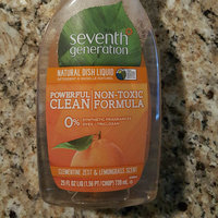 Seventh Generation Lemongrass & Clementine Zest Natural Dish Liquid uploaded by Bethany L.