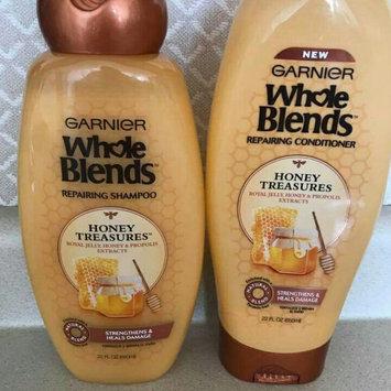 Photo of Garnier Whole Blends™ Honey Treasures Repairing Shampoo uploaded by Hend B.
