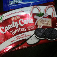 Nabisco Oreo Sandwich Cookies Mini Candy Cane Creme Chocolate uploaded by Katey R.