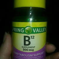 Spring Valley Natural Vitamin B12 Tablets uploaded by Denise T.