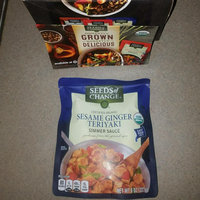 Seeds of Change® Certified Organic Simmer Sauce Sesame Ginger Teriyaki uploaded by Cindy S.