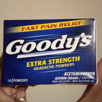 Goody's Extra Strength Acetaminophen/Aspirin Powder- 18 ct uploaded by Dione P.