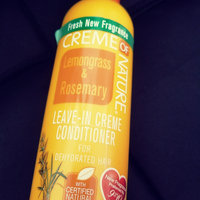 Creme of Nature Lemongrass and Rosemary Leave-in Conditioner uploaded by Chintil G.