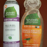 Seventh Generation Lemongrass & Clementine Zest Natural Dish Liquid uploaded by Melissa B.