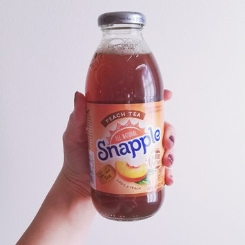 Photo of Snapple All Natural Peach Tea uploaded by Amber M.
