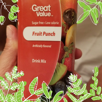 Photo of Great Value: Fruit Punch Drink Mix uploaded by Brooklyn D.