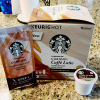 Starbucks Caramel Caffe Latte Specialty Coffee Beverage K-Cups uploaded by Kimberly F.