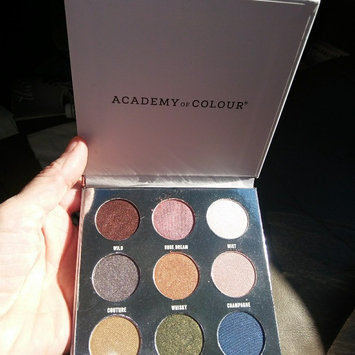 Photo of Academy of Colour 9 Shade Eyeshadow Palette, Multicolor uploaded by Devin H.