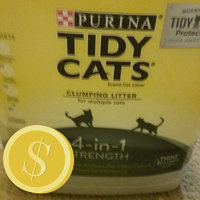 Tidy Cats Clumping Cat Litter 4-In-1 Strength Cat Litter uploaded by Denise T.