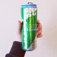 Red Bull Lime Edition Sugarfree Energy Drink uploaded by Amber M.